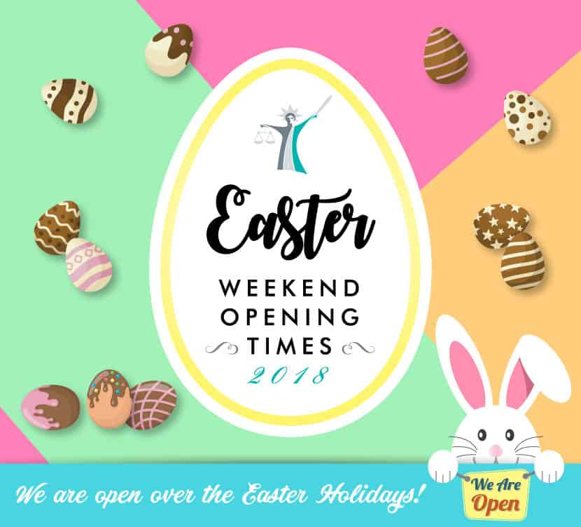 easter weekend bank holiday opening times 2018