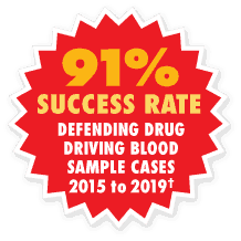 drug driving blood flash