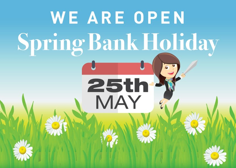 we are open 25th may 2020