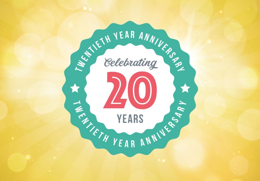 Geoffrey Miller Solicitors Turns 20 today!